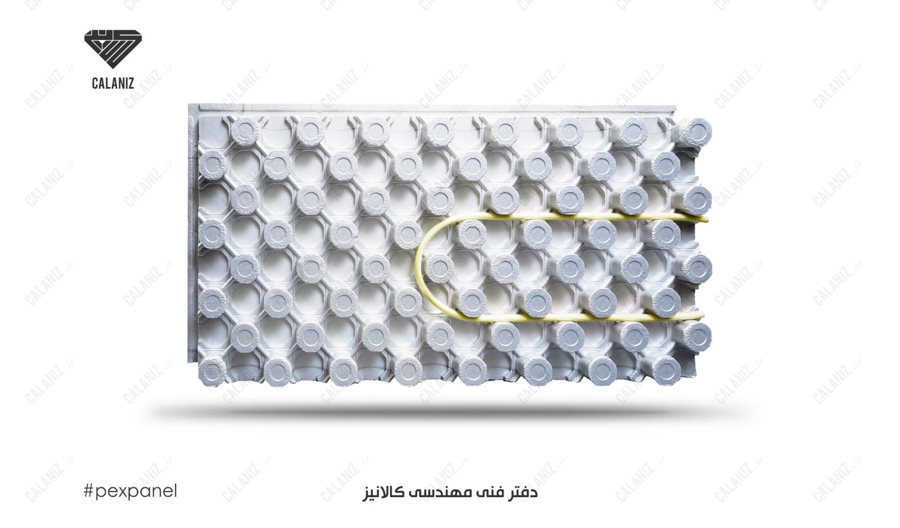 #فوم #شانه_تخم_مرغی #گرمایش_از_کف #عایق #عایق_حرارتی #لوله #پنج_لایه #گرمایش #کالانیز #یونولیت #پلی_استایرن #calaniz