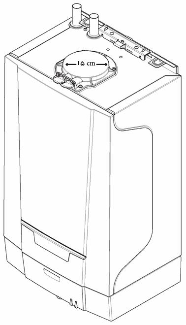 پکیج شوفاژ دیواری بدون فن
