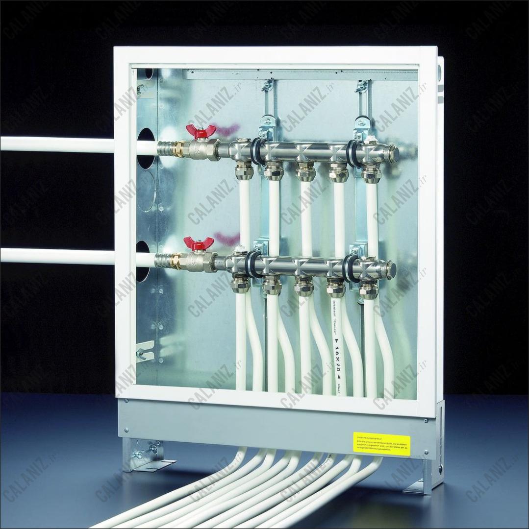 ابعاد جعبه کلکتور های اوون تروپ آلمان oventrop - دفتر فنی مهندسی کالانیز calaniz  1